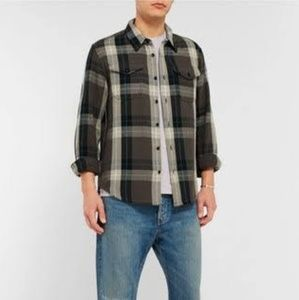 Men's Levi Button Down Flannel NWT